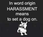 harassment dogwp